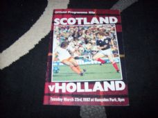 Scotland v Holland, 1982